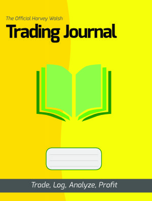 The Official Harvey Walsh Trading Journal front cover